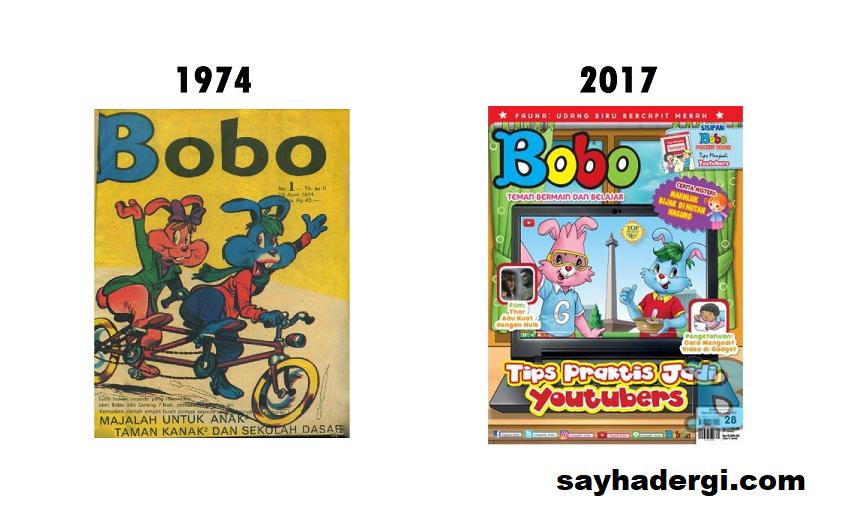 Generasi Perubahan Majalah Bobo Dulu Hingga Sekarang