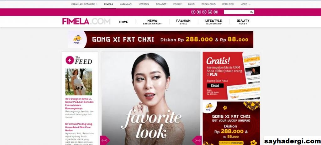 Majalah Online Wanita Terbaik di Indonesia 2021