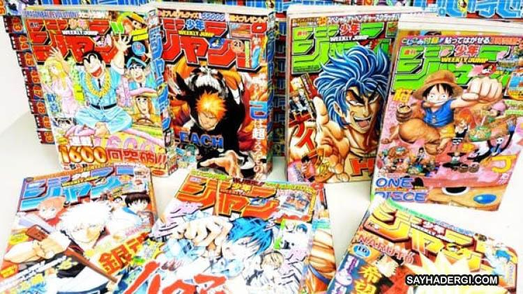 10 Saran Majalah Manga Shonen Jump Terbaru