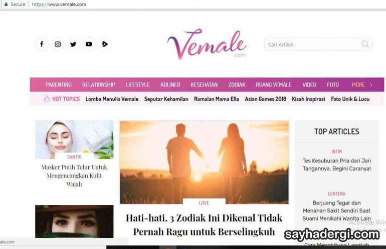 10 Majalah Online Asing Yang Populer di Indonesia